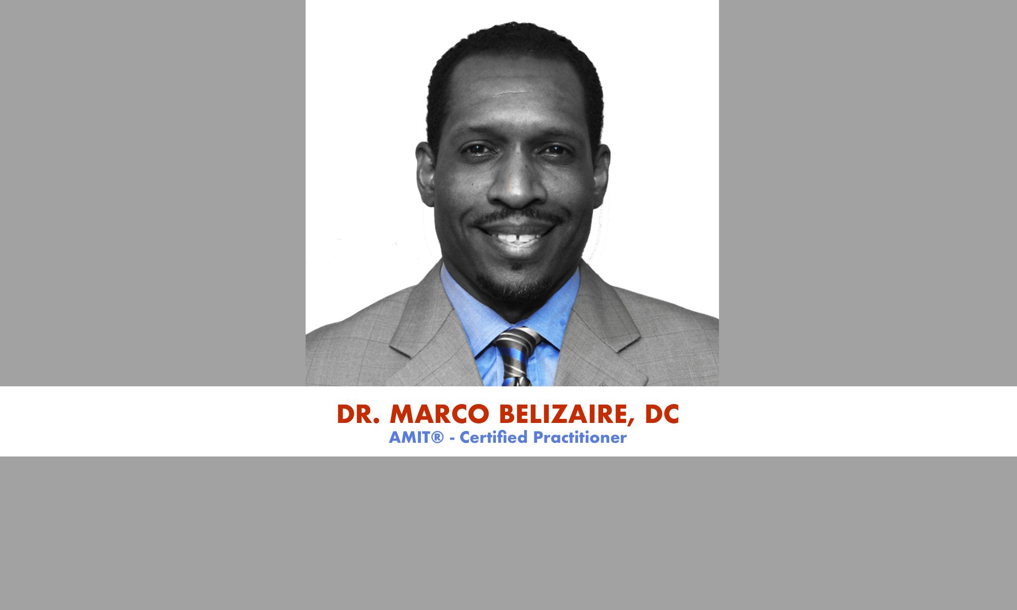 Athletics DC - Dr. Marco Belizaire